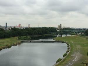 岡崎市内の眺め
