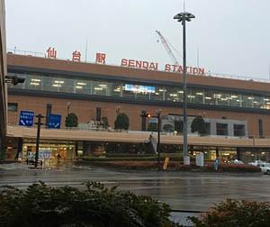 仙台駅前の画像